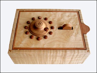 Wooden Combination Lock Boxes